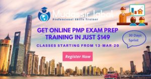 PMP 30 Day Challenge